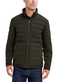 Nautica Men's Reversible Stretch Quilted Jacket