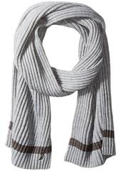 Nautica Men's Rib and Stripe Scarf