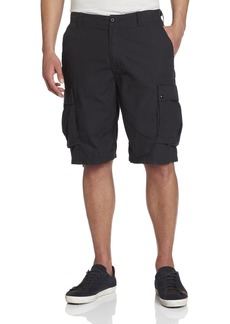 Nautica Men's Ripstop Cargo Short Black