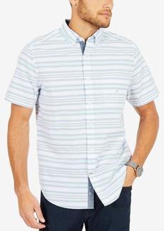 Nautica Men's Riviera Striped Classic Fit Shirt