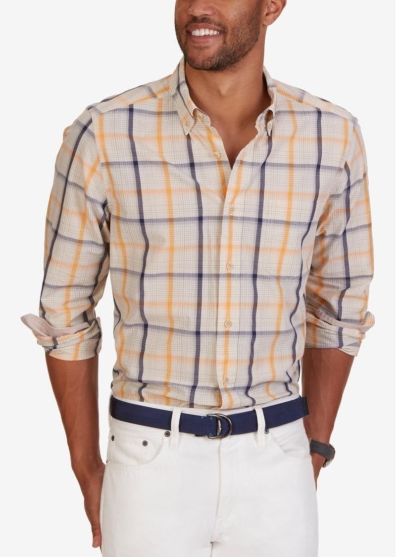 Nautica Men's Sail Plaid Long-Sleeve Shirt