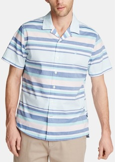 Nautica Men's Sail Stripe Camp Collar Shirt, Created for Macy's
