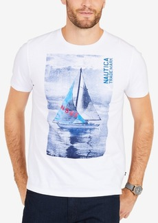 Nautica Men's Big & Tall Sailboat Graphic T-Shirt