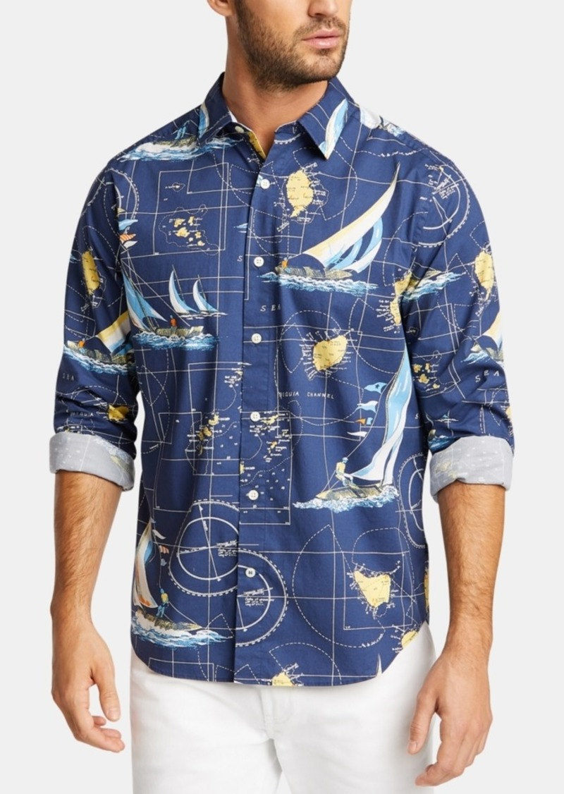 Nautica Men's Sailboat Shirt, Created for Macy's