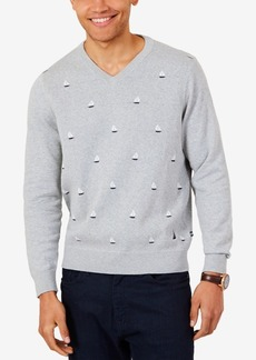 Nautica Men's Sailboat Sweater