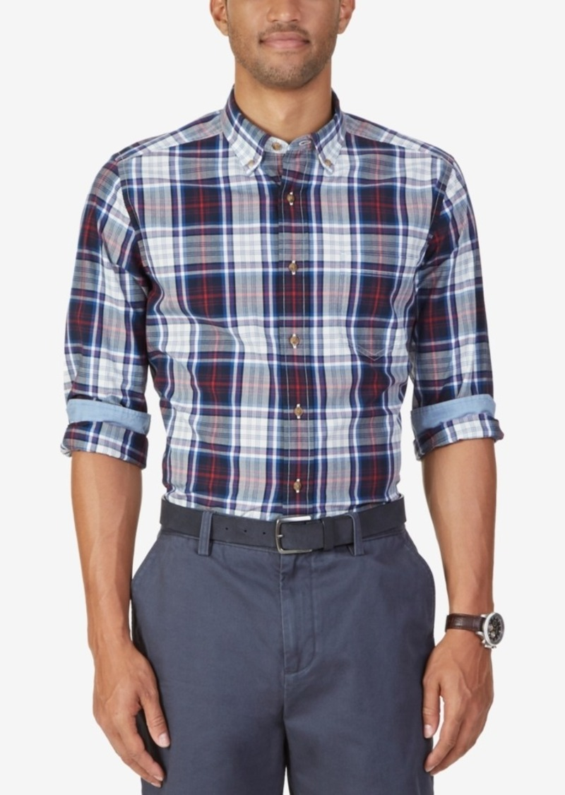 Nautica Men's Samson Plaid Long-Sleeve Shirt