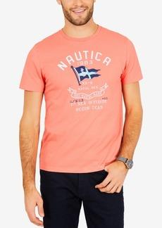 Nautica Men's Sea Division Logo-Print T-Shirt