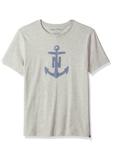 Nautica Men's Short Sleeve Crew Neck Cotton T-Shirt