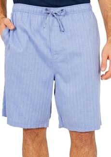 Nautica Men's Sleepwear, Blue Herringbone Short