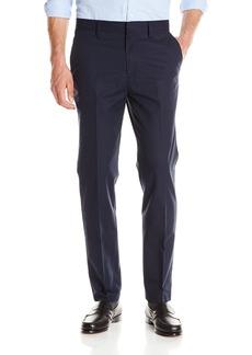 Nautica Men's Flat Front Slim Fit Twill Chino Pant
