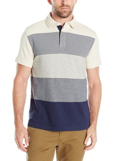 Nautica Men's Slim Fit Gradient Stripe Polo Shirt