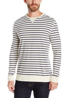 Nautica Men's Slim Fit Striped Long Sleeve Shirt