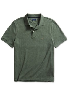 Nautica Men's Solid Cotton Interlock Polo