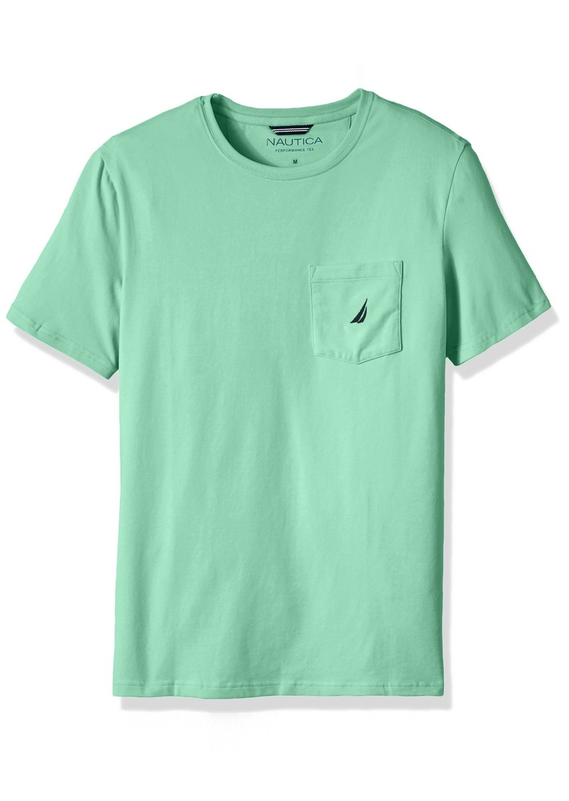 fa251b6d8382 Men's Solid Crew Neck Short Sleeve Pocket T-Shirt. Nautica. $25.60-$32.00.  from Amazon Fashion