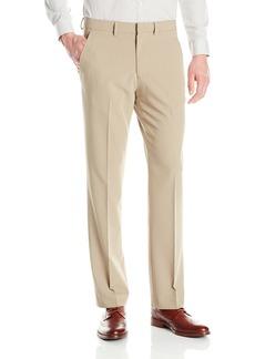Nautica Men's Solid Flat Front Pant