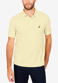 Nautica Men's Solid Soft Touch Polo Shirt