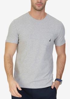 Nautica Men's Solid Stretch Anchor T-Shirt