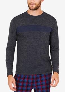 Nautica Men's Space-Dyed Long-Sleeve T-Shirt