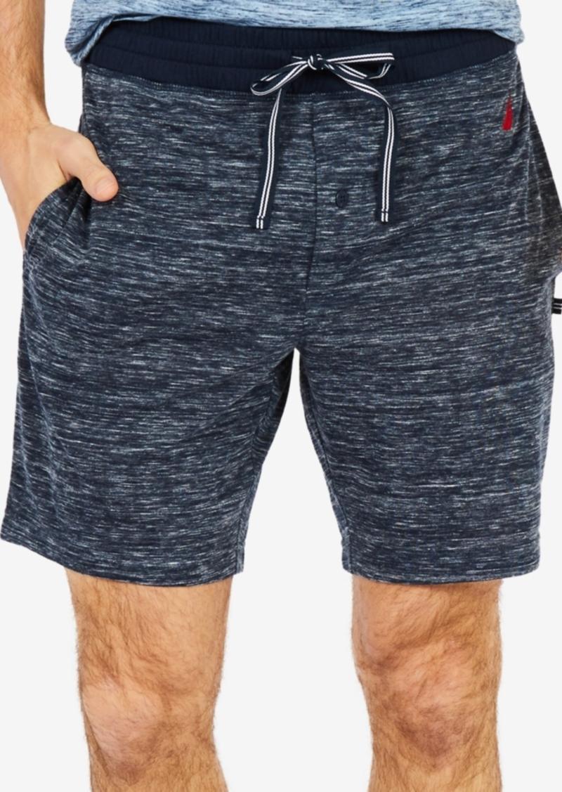 3a2db42954 Nautica Nautica Men s Space-Dyed Sleep Shorts