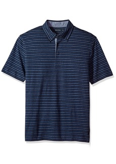 Nautica Men's Standard Classic Fit Striped Polo Shirt