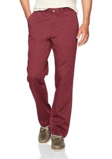 Nautica Men's Standard Cotton Twill Flat Front Chino Pant  34W X 34L