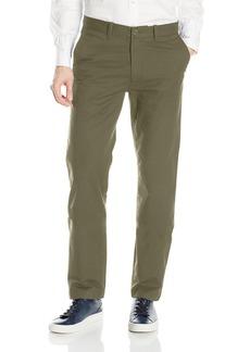 Nautica Men's Standard Flat Front Slim Fit Twill Chino Marina Stretch Pant  34W X 30L