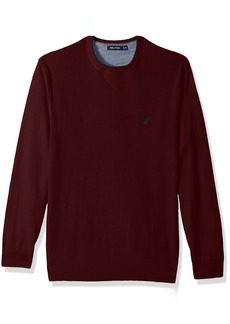 Nautica Men's Standard Long Sleeve Crew Neck Sweater