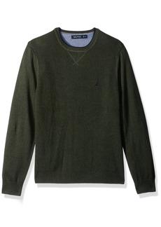 Nautica Men's Standard Long Sleeve Crew Neck Sweater