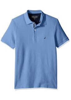 Nautica Men's Standard Slim Fit Short Sleeve Solid Polo Shirt