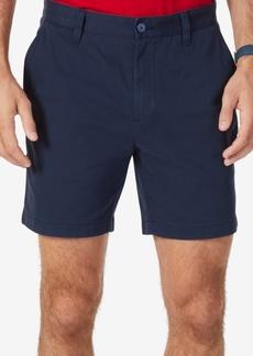 "Nautica Men's Stretch Flat Front 6"" Shorts"