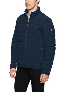 Nautica Men's Stretch Reversible Midweight Jacket  L