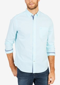 Nautica Men's Stripe Stretch Shirt