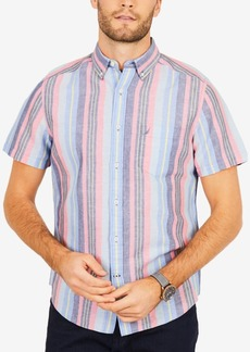Nautica Men's Striped Classic Fit Shirt