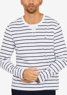 Nautica Men's Striped Long-Sleeve T-Shirt, Created for Macy's