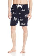Nautica Men's Surfer Print Knit Sleep Short