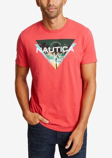 Nautica Men's Triangle Logo Graphic T-Shirt