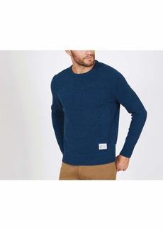 Nautica Men's Twisted Anchor Motif Sweater