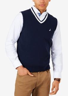 Nautica Men's V-Neck Sweater Vest