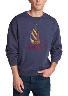 Nautica Men's Vintage Crewneck Logo Sweatshirt