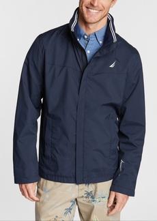Nautica Men's Waterproof Packable Hooded Jacket