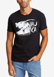 Nautica Men's Wave Graphic T-Shirt