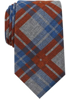Nautica Men's Waves Plaid Tie