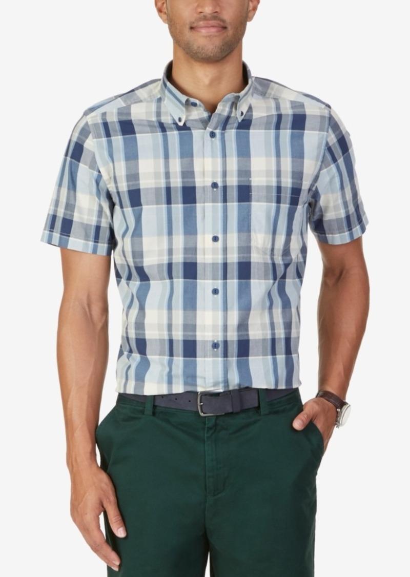 Nautica Men's Wayne Plaid Short-Sleeve Shirt