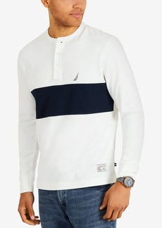 Nautica Men's Wide-Stripe Henley