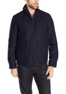 Nautica Men's Wool Melton Jacket  M
