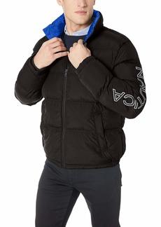 Nautica Men's Zip Front Artic Down Jacket