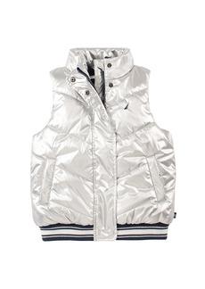 Nautica Metallic Puffer Vest
