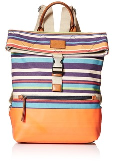Nautica Modern Trails Backpack bold stripe