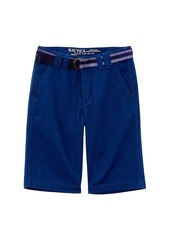 Nautica Nautica Boy's Belted Chino Short