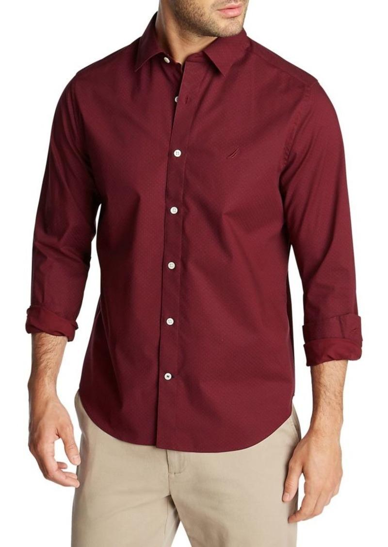Nautica Navtech Classic-Fit Button-Down Shirt